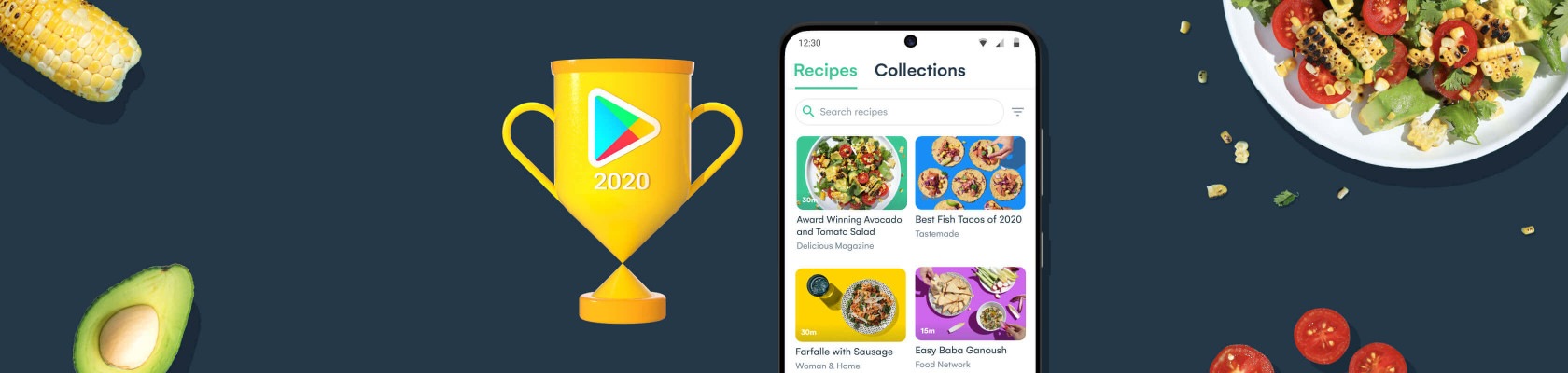 """Whisk wins """"Everyday Essentials"""" in Google Play Best of 2020 Awards"""