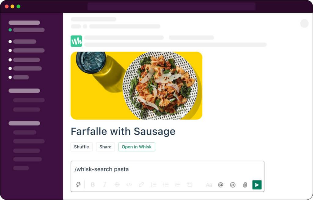 Discover new recipes