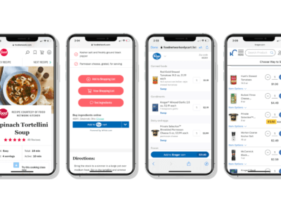Whisk adds The Kroger Co. to Partner Ecosystem